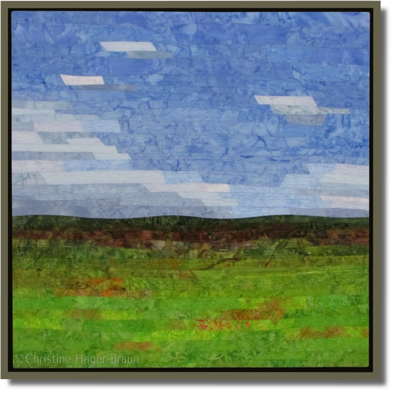 Green Fields #2by Christine Hager-Braun