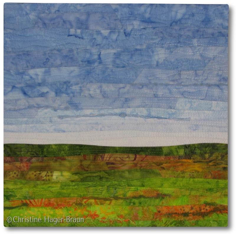 Green Fields #3 by Christine Hager-Braun