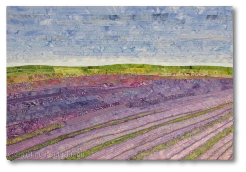 Lavender Fields #5 by Christine Hager-Braun