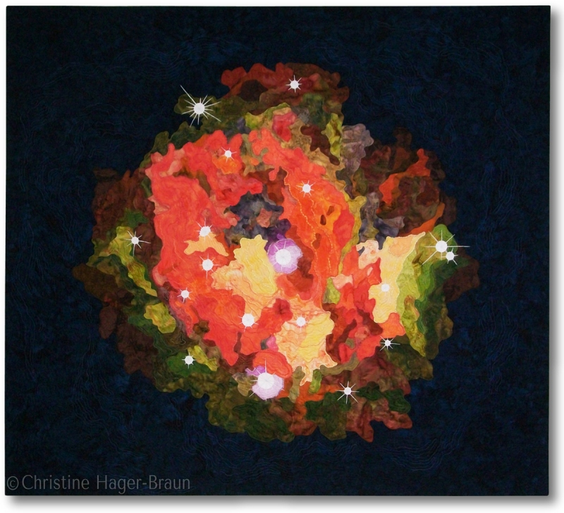 Cocoon Nebula by Christine Hager-Braun