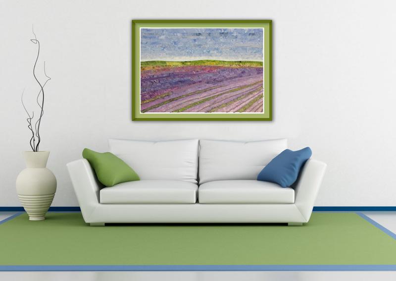 Lavender Fields by Christine Hager-Braun