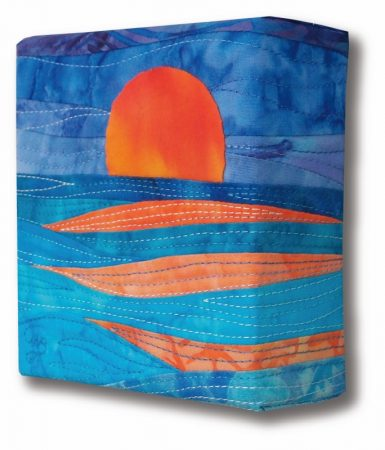 Ocean Sunset Sideview