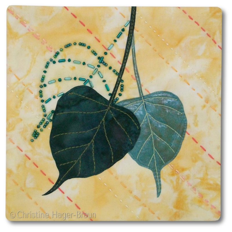 Sacred Fig Leaves