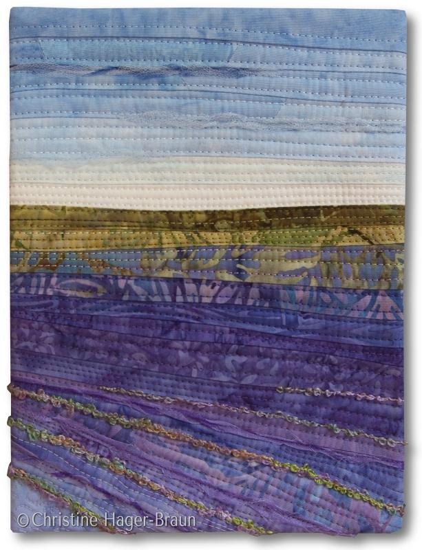 Lavender Fields #2 by Christine Hager-Braun