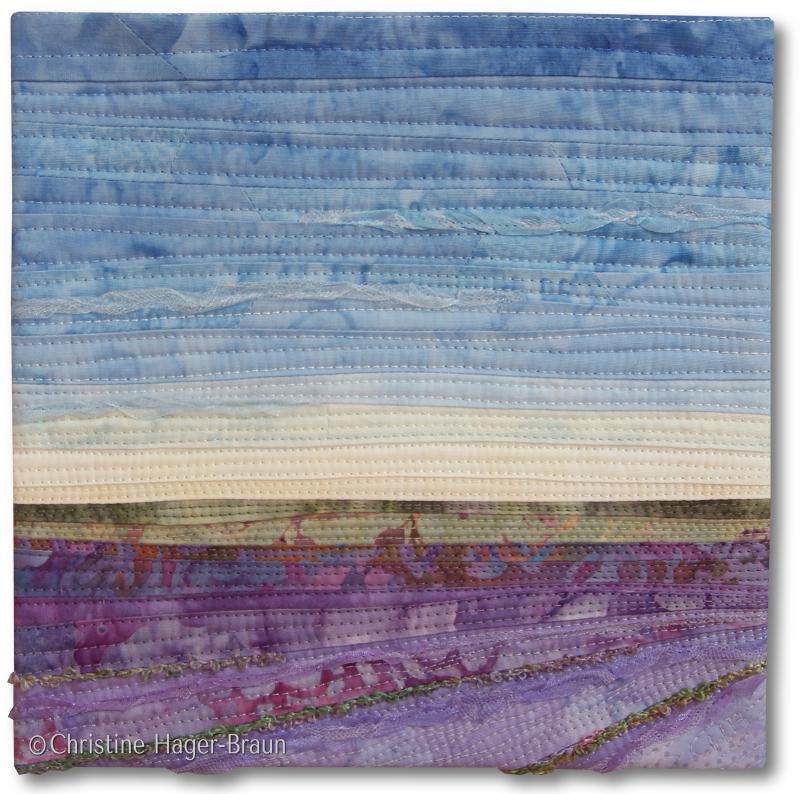 Lavender Fields #3 by Christine Hager-Braun