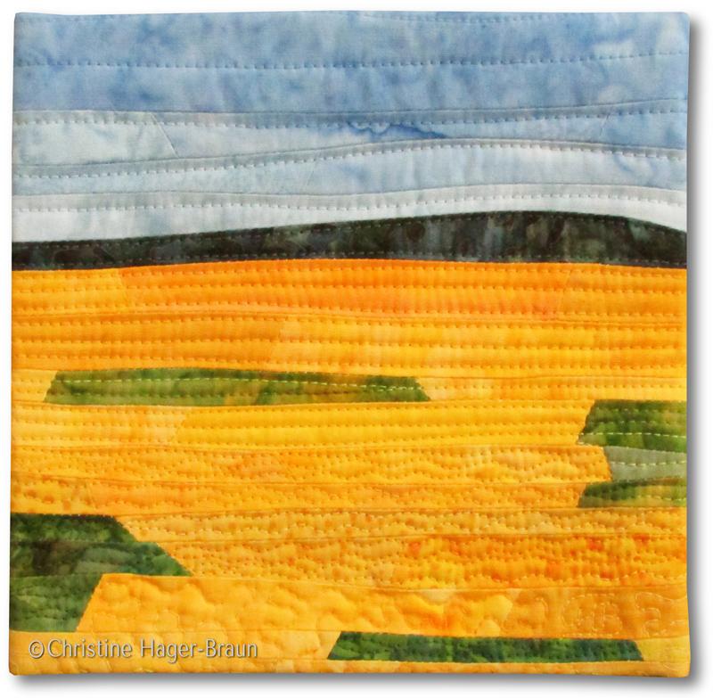 Sunflower Fields #2 by Christine Hager-Braun