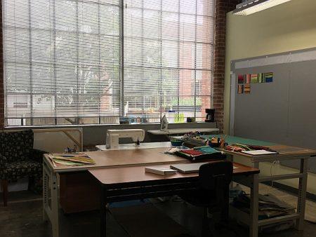 My studio at Golden Belt - 2018