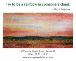 Sunset #2 by Christine Hager-Braun