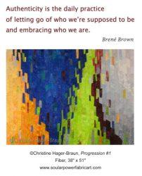 Progression-1 by Christine Hager-Braun
