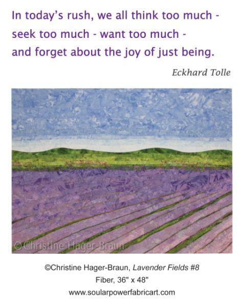 Lavender-Fields 8 by CHristine Hager-Braun