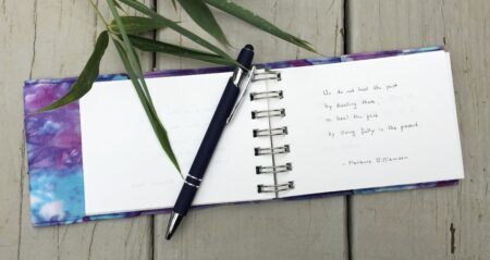 Journal with Quote